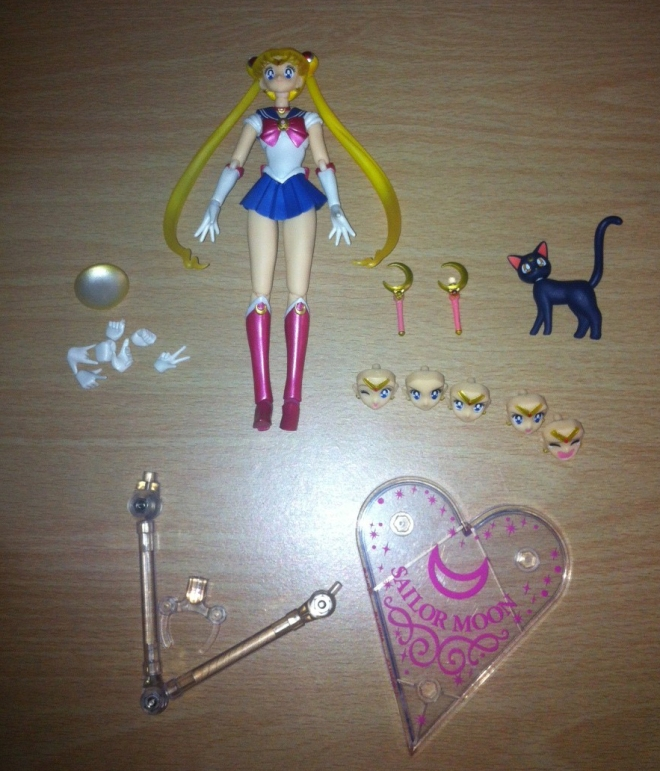 Sailor Moon Figuarts - de-boxed!