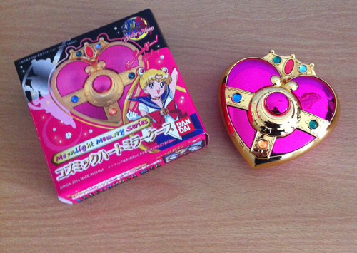 Sailor Moon Moonlight Memory Compact Mirror - worth every penny!
