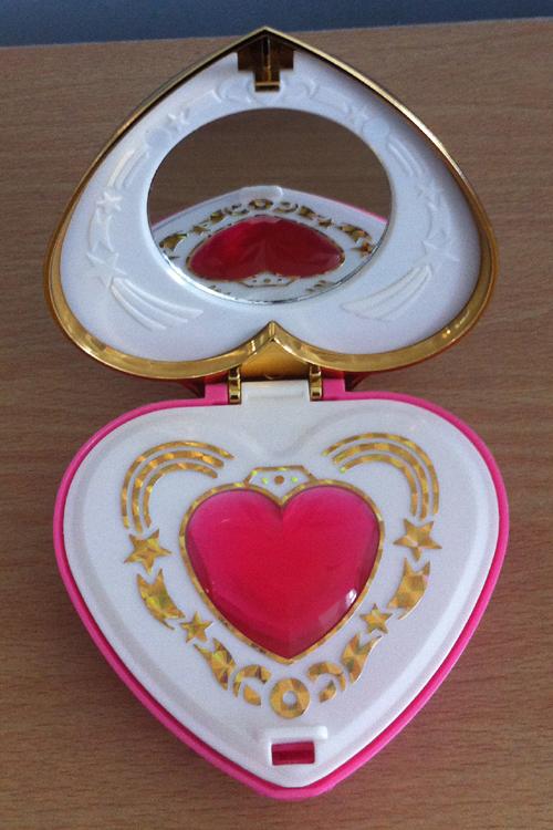 Sailor Moon Moonlight Memory Compact Mirror - open!