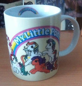 Epic 1980s style My Little Pony mug!