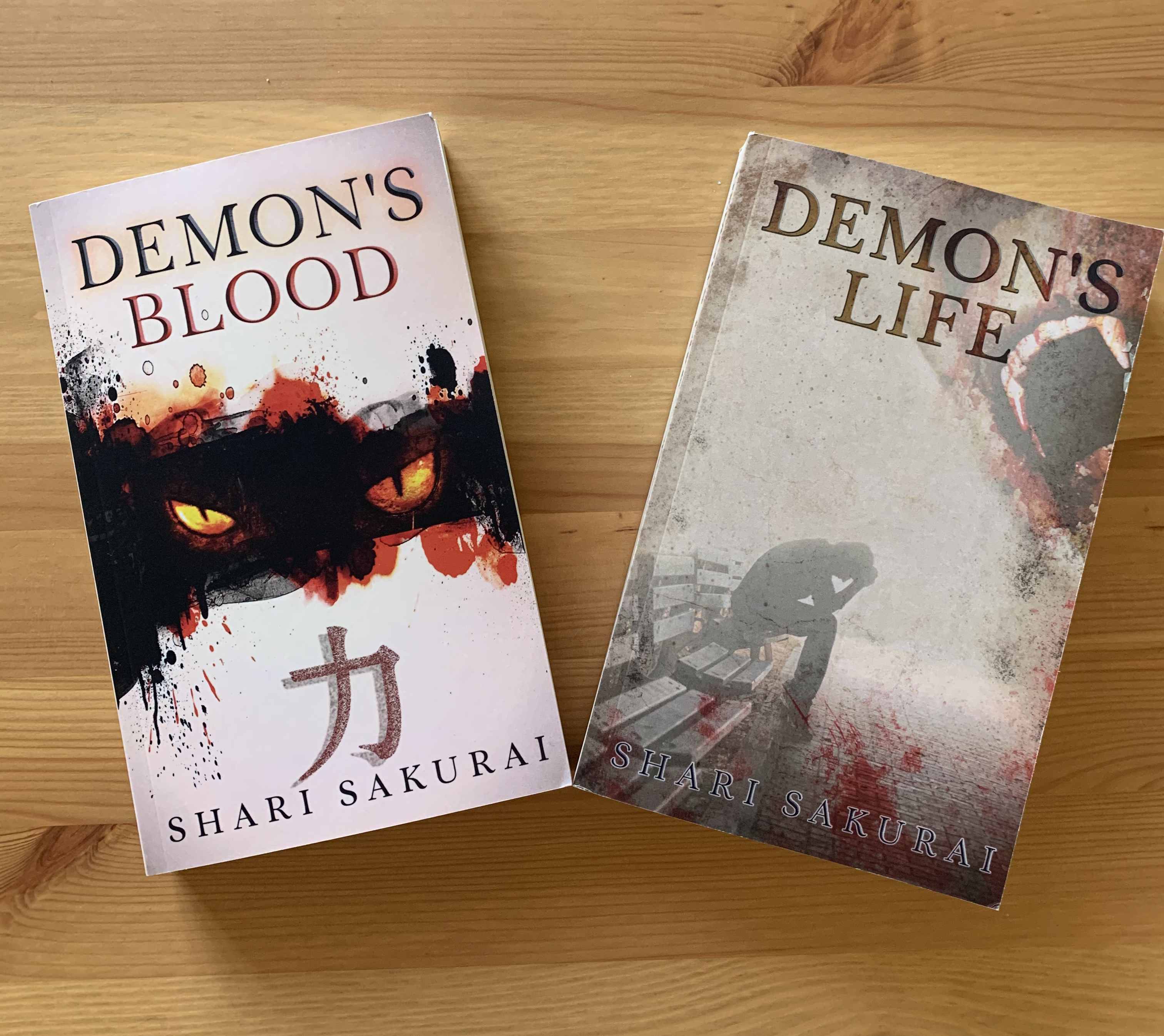 Demon's Blood Books